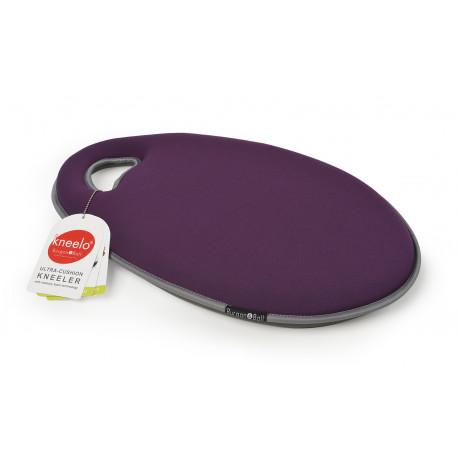 Coussin violet de jardinage confort