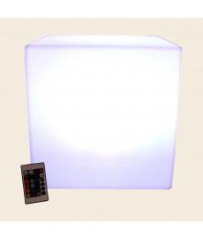 cube lumineux sans fil multicolore