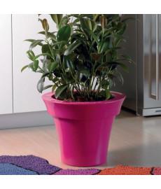 Pot pour plante déco rose Gloss