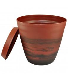 Pot pour plantes déco LILO Acajou