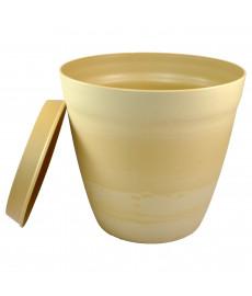 Pot pour plantes déco LILO beige crème