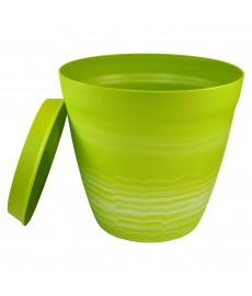 Pot pour plantes déco LILO vert anis