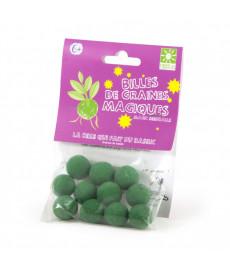Billes graines magiques vertes