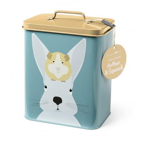 Boite conservation nourriture pour lapin et hamster