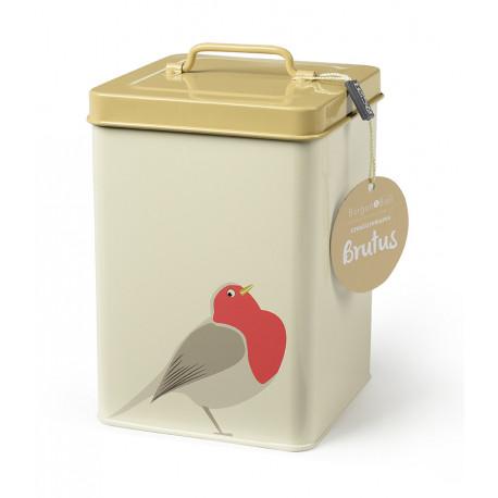 Boite conservation nourriture pour oiseaux