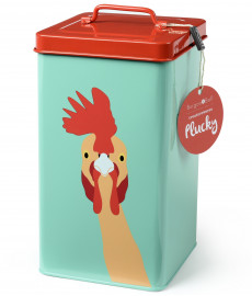 Boite conservation nourriture pour poule