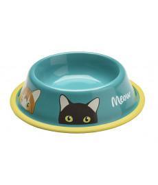 Gamelle déco pour chat MIAOU